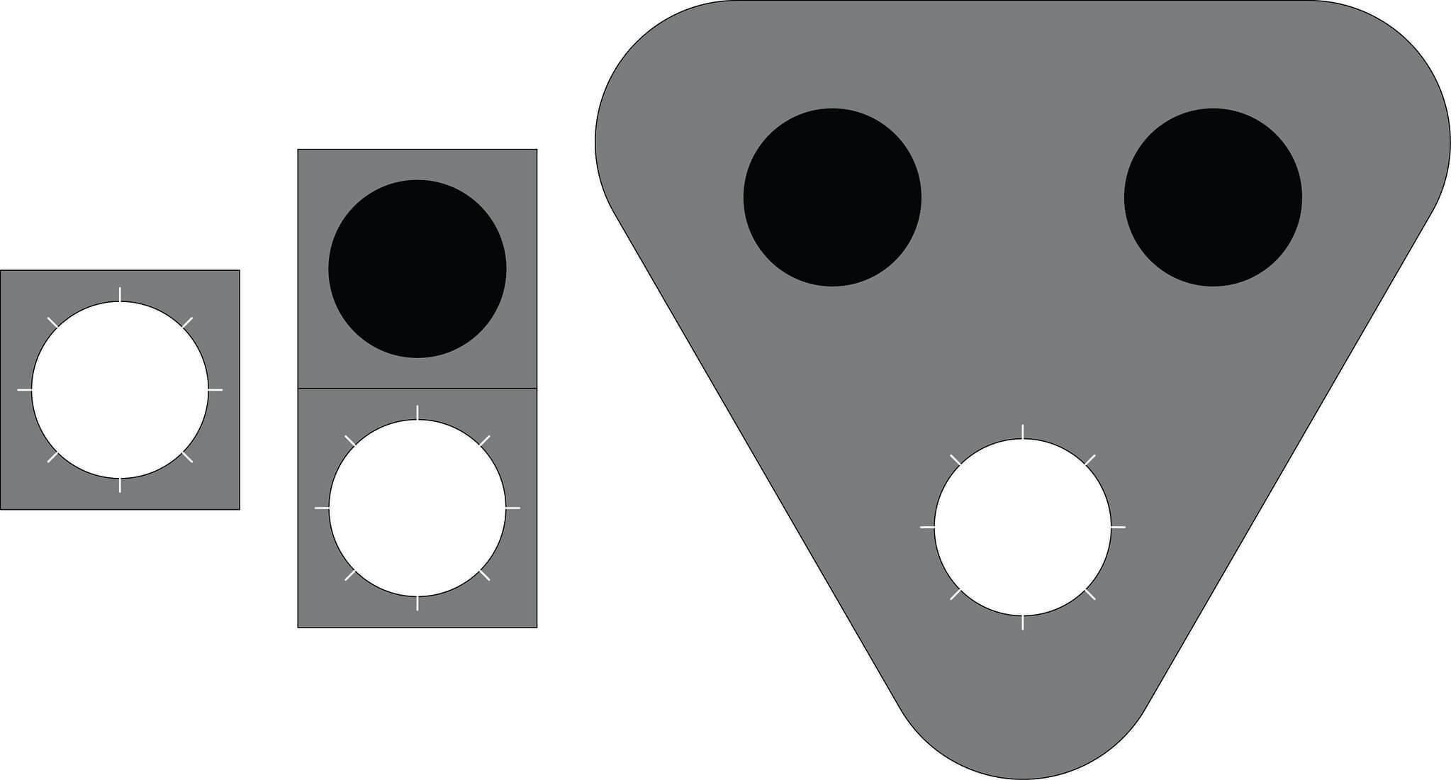 Liikennevalo-opastin 6:Vilkkuva valkoinen valo
