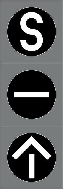 Liikennevalo-opastin 8:Joukkoliikenneopastin