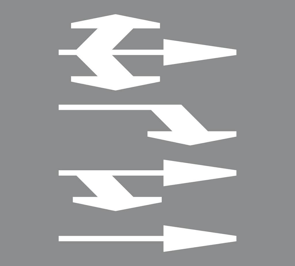 Tiemerkintä M1:Ajokaistanuoli