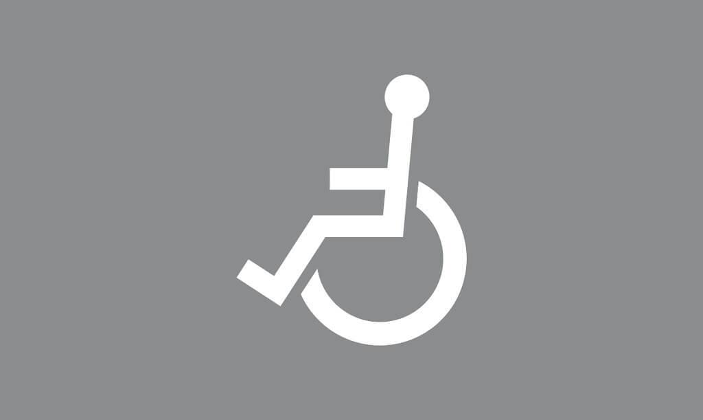 Tiemerkintä M12:Invalidin ajoneuvo