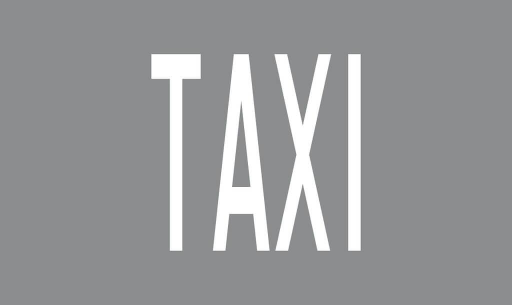 Tiemerkintä M14:TAXI-merkintä