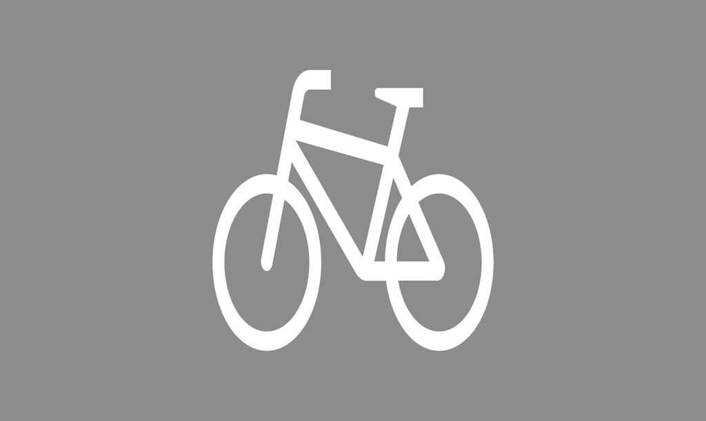 Tiemerkintä M8:Pyöräilijä